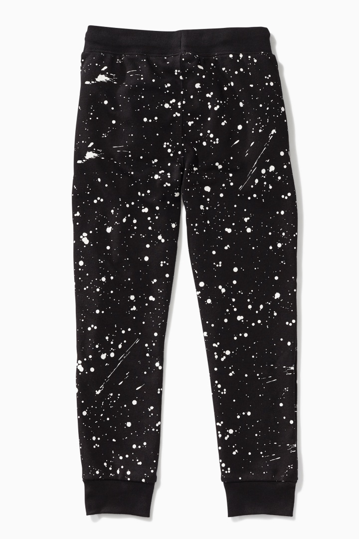Glow-In-The-Dark Splatter Jogger back