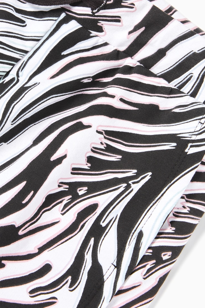Zebra Print Short detail