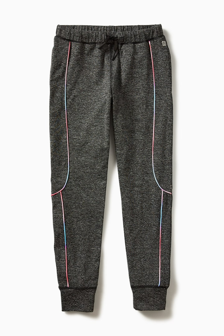 Ombre Piping Active Jogger front