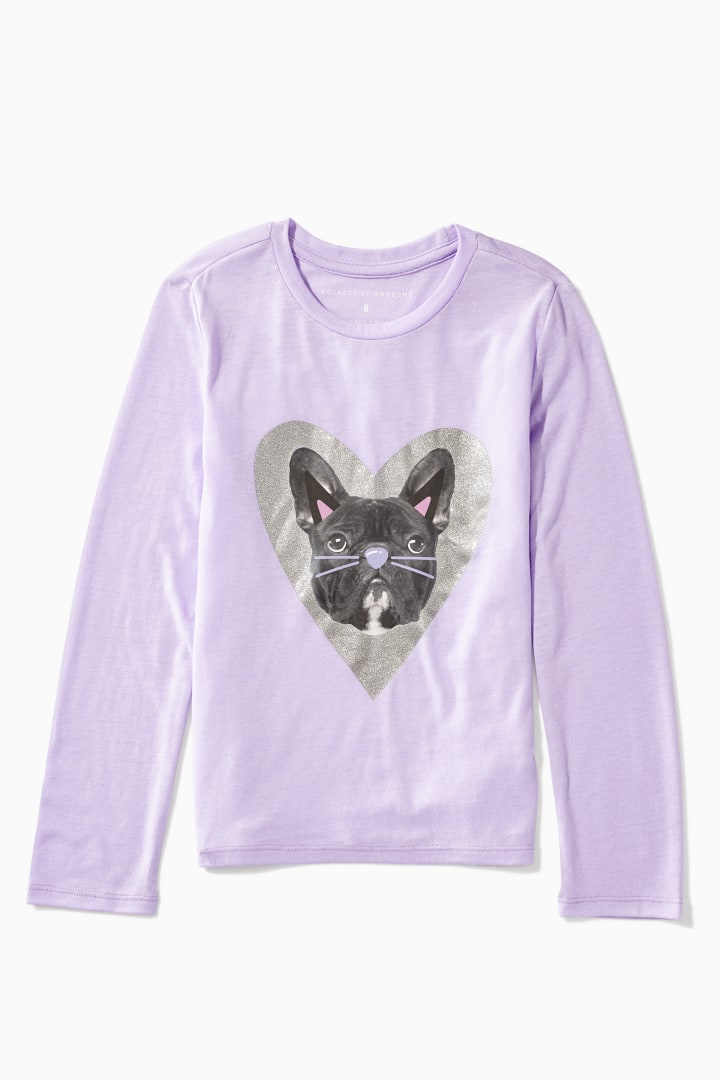 Frenchie Cat Filter Tee Main Image