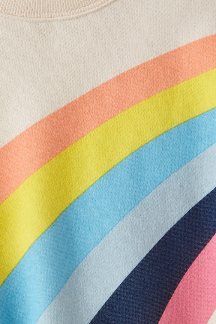 Rainbow Sweatshirt detail