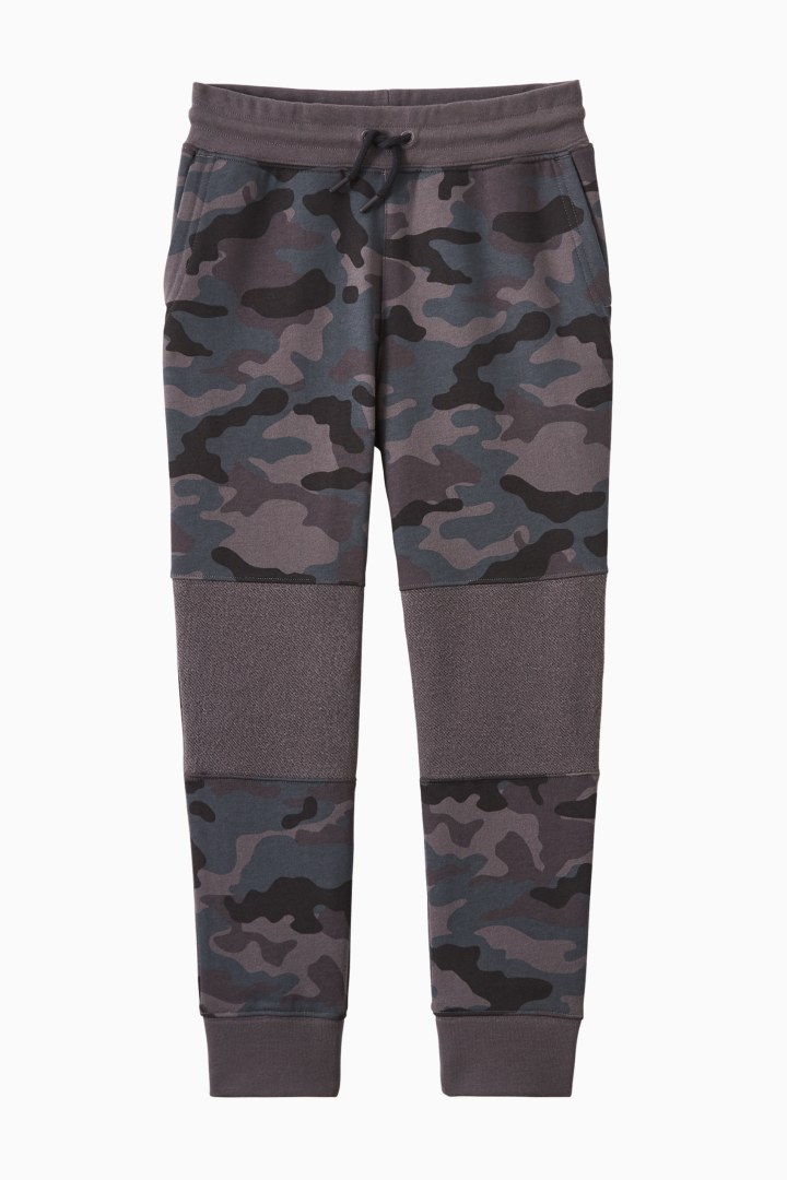 Camo Knee Patch Jogger front