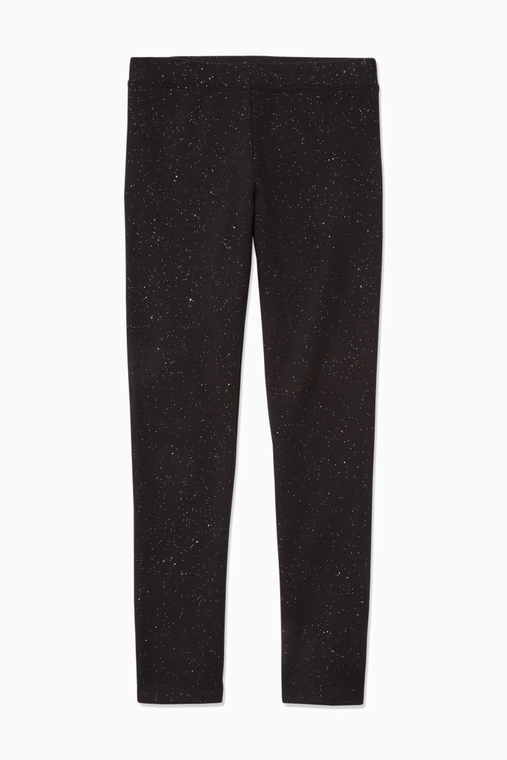 Winter-Proof Sparkle Galaxy Legging front