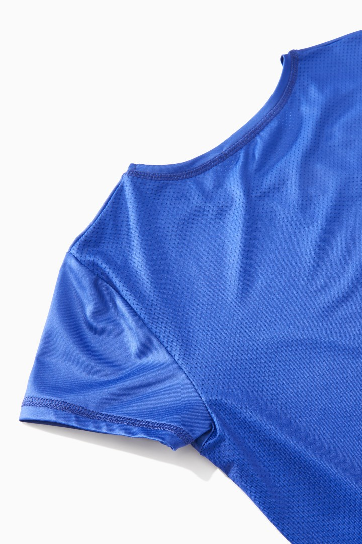 Mesh Back Active Top detail