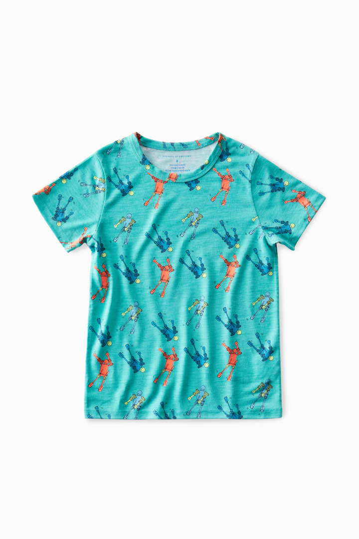 Glow In The Dark Floss Bot Pajama Set other