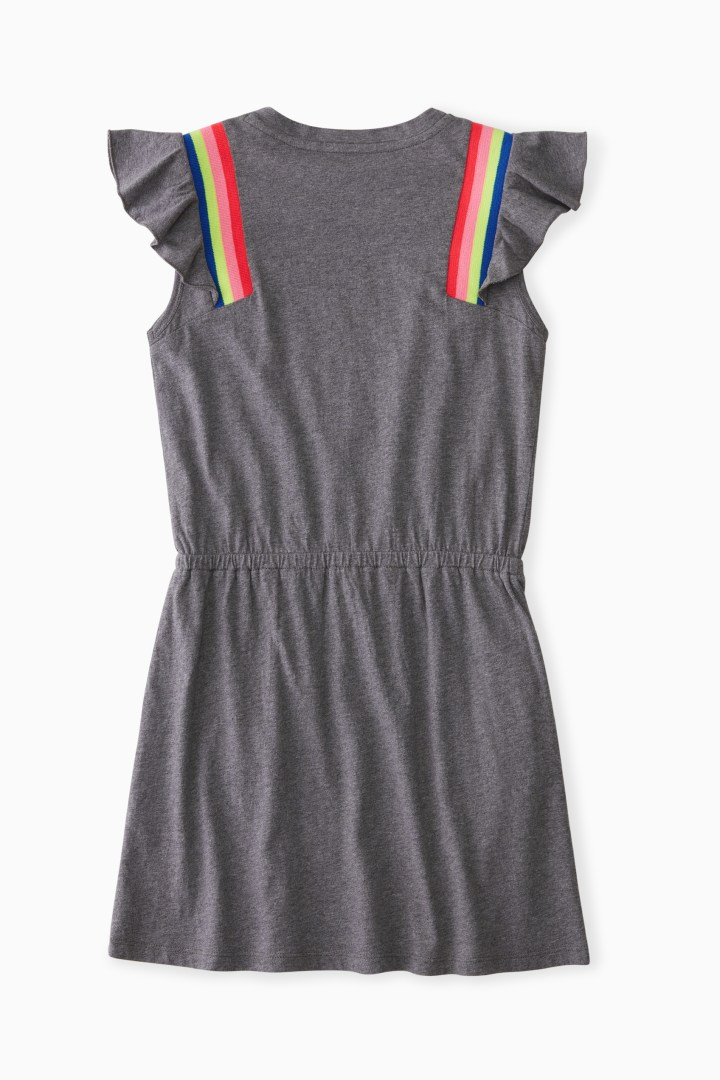 Trackstar Trim Dress back