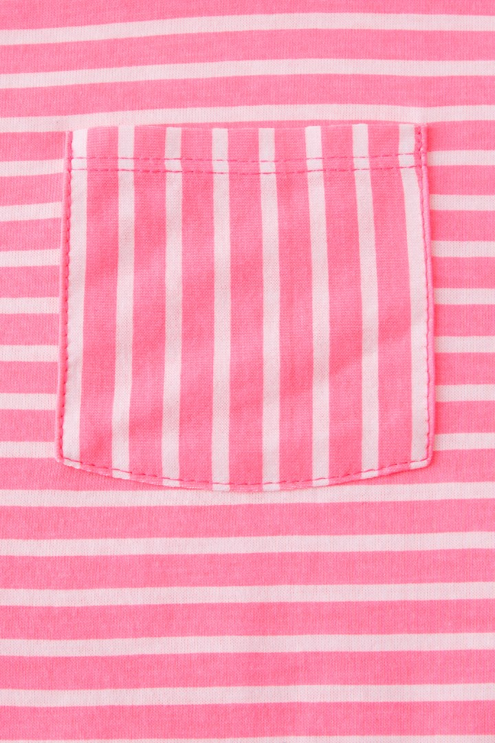 Essential Stripe Pocket Tee detail