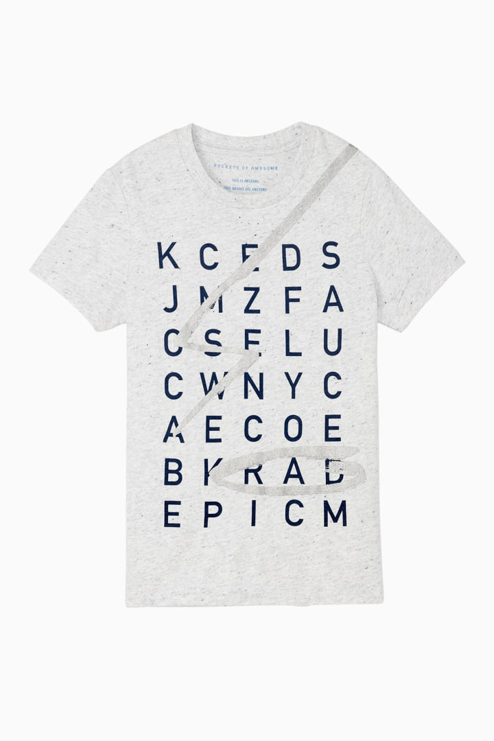 Word Search Tee front