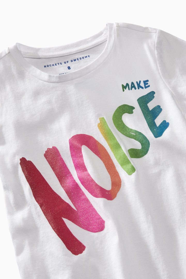 Make Noise Tee detail