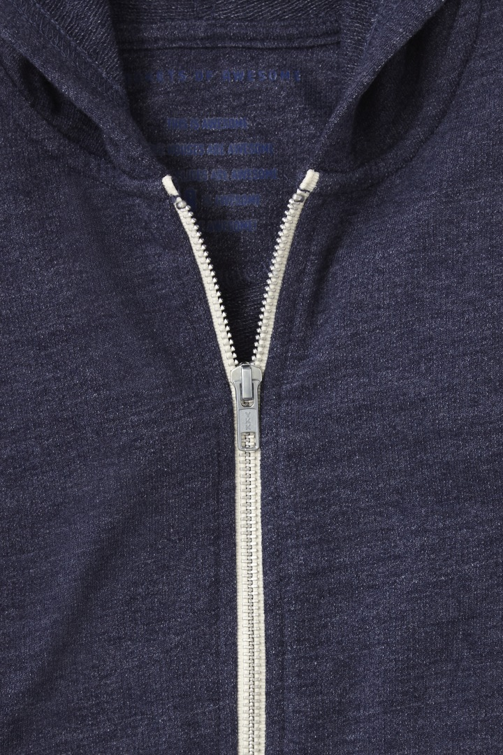 Essential Full-Zip Sweatshirt detail