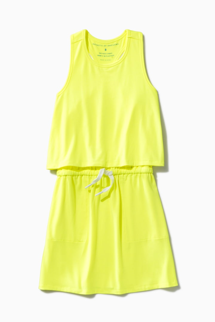 Essential Tank Dress front