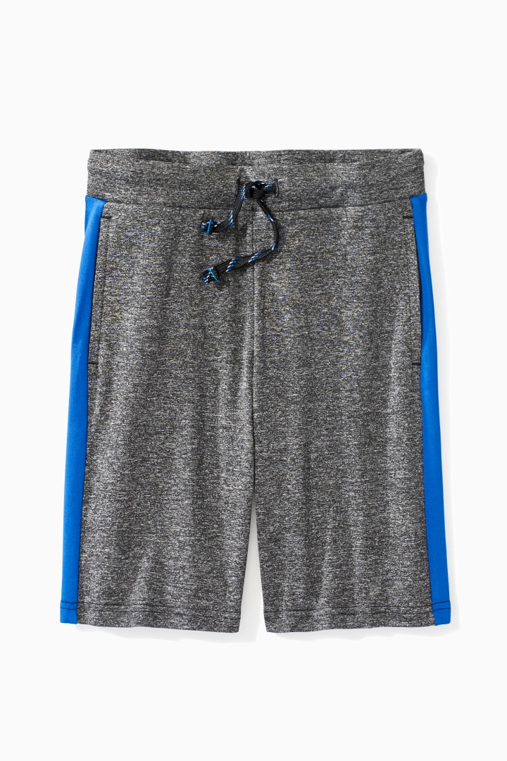 Color Block Active Short front