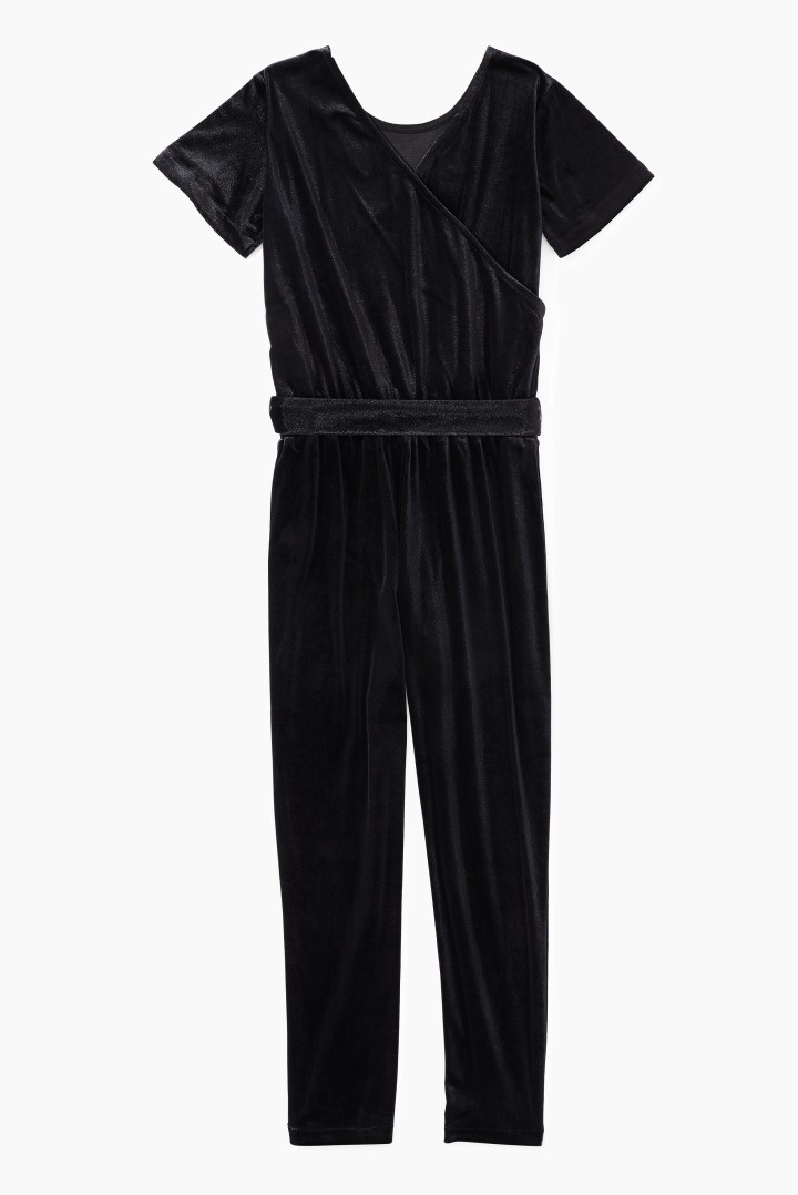 DVF X Rockets Of Awesome Velvet Jumpsuit back