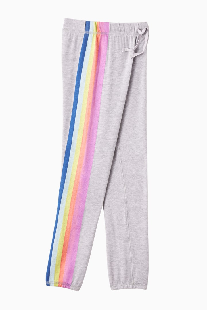Comfy Rainbow Stripe Jogger Main Image