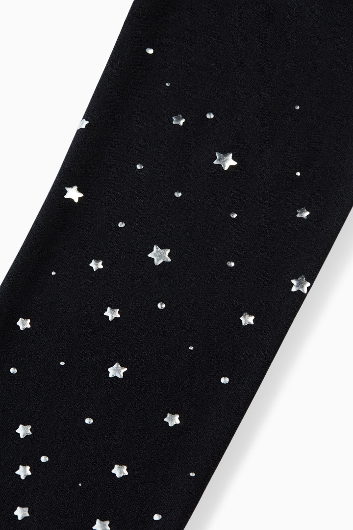 Silver Star Legging detail
