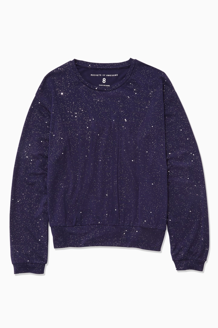 Sparkle Galaxy Tee front