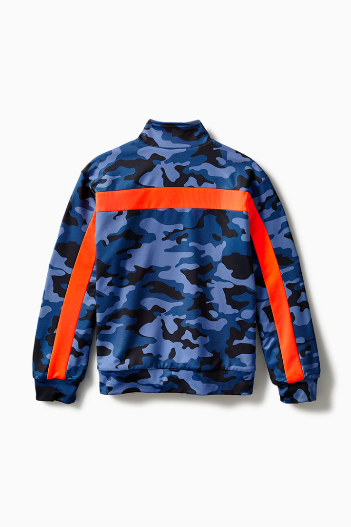 Reversible Camo Track Jacket detail