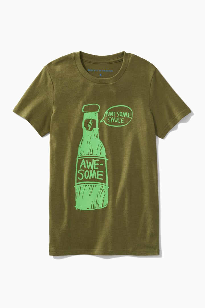 Awesome Sauce Tee front