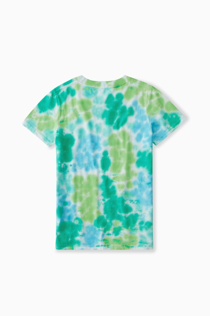 Super Rad Tie-Dye Tee back