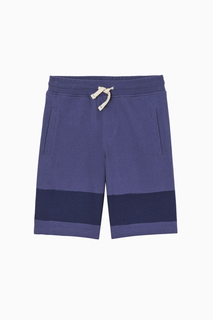 Painted Stripe Short front