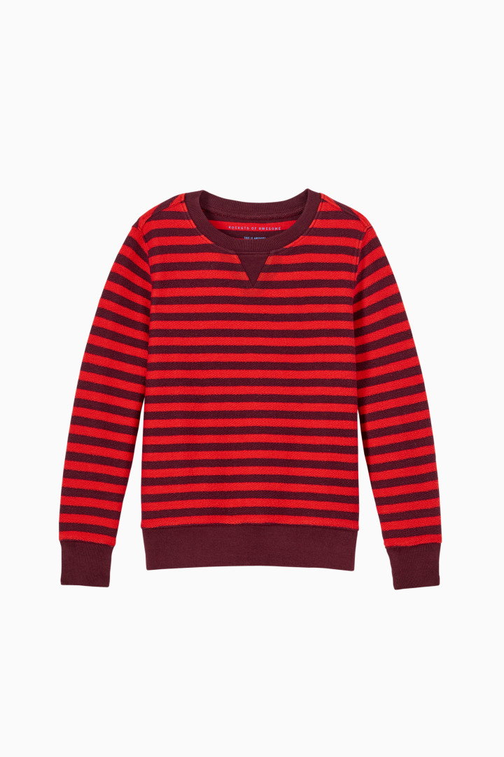 Stripe Sweatshirt Main Image