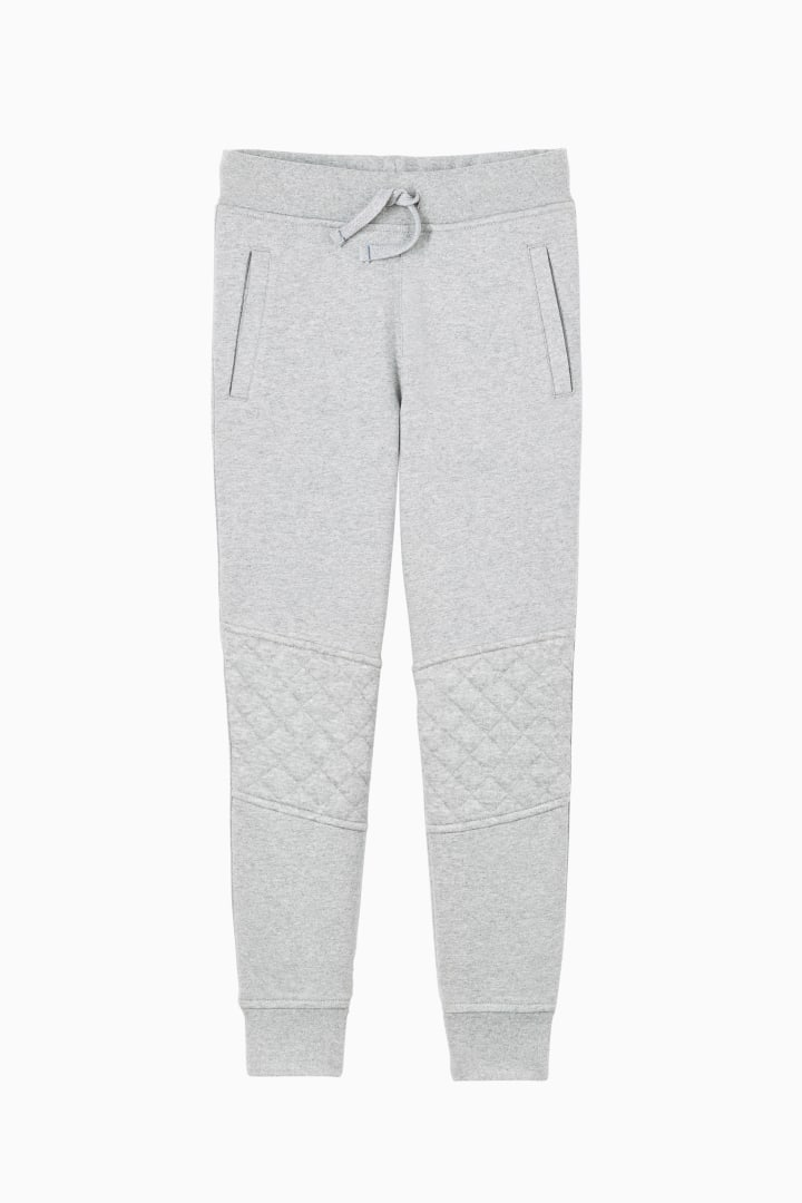 Quilted Jogger front