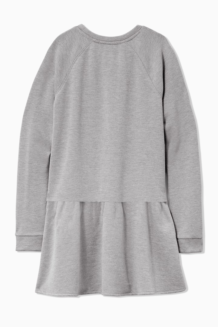 Sweatshirt Dress back