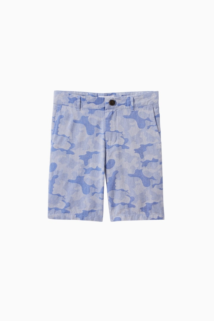 Faded Camo Short front