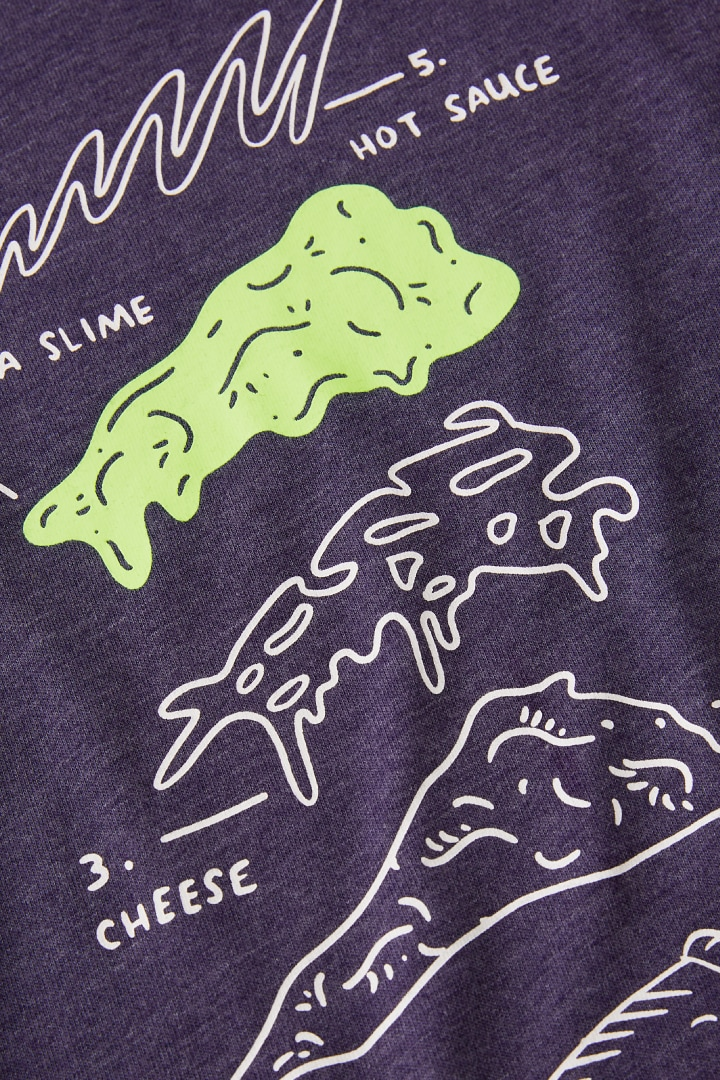 Glow-In-The-Dark Pizza Tee other