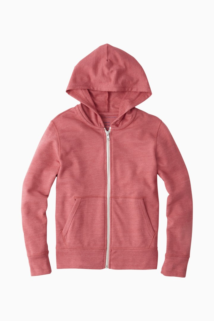 Essential Full-Zip Sweatshirt front