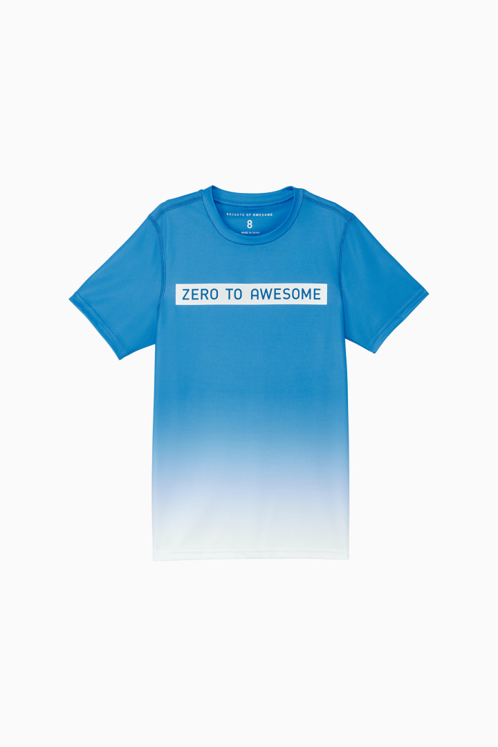 Ombre Zero To Awesome Active Tee Main Image