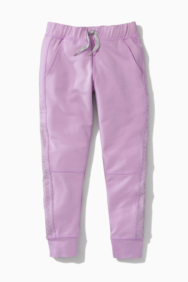 Sparkly Glitter Side Jogger front
