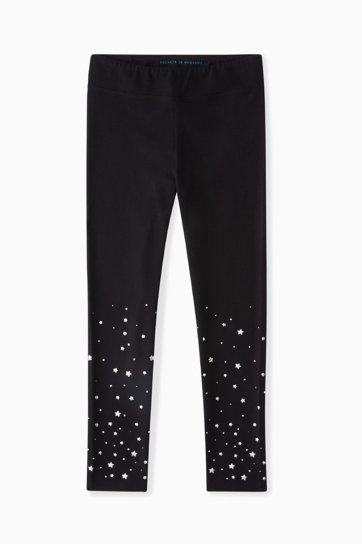 Silver Star Legging front