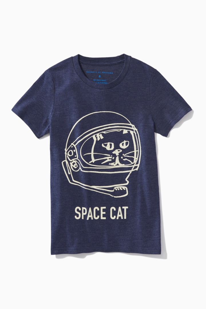 Space Cat Tee front