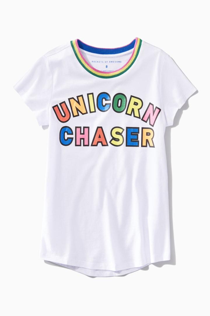 Unicorn Chaser Tee front