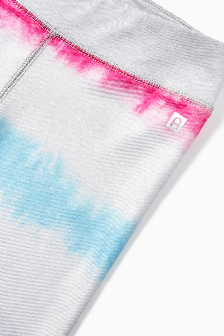 Multi Tie-Dye Active Biker Short detail