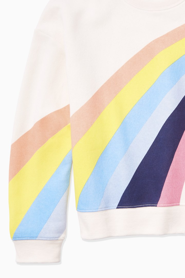 Rainbow Sweatshirt back