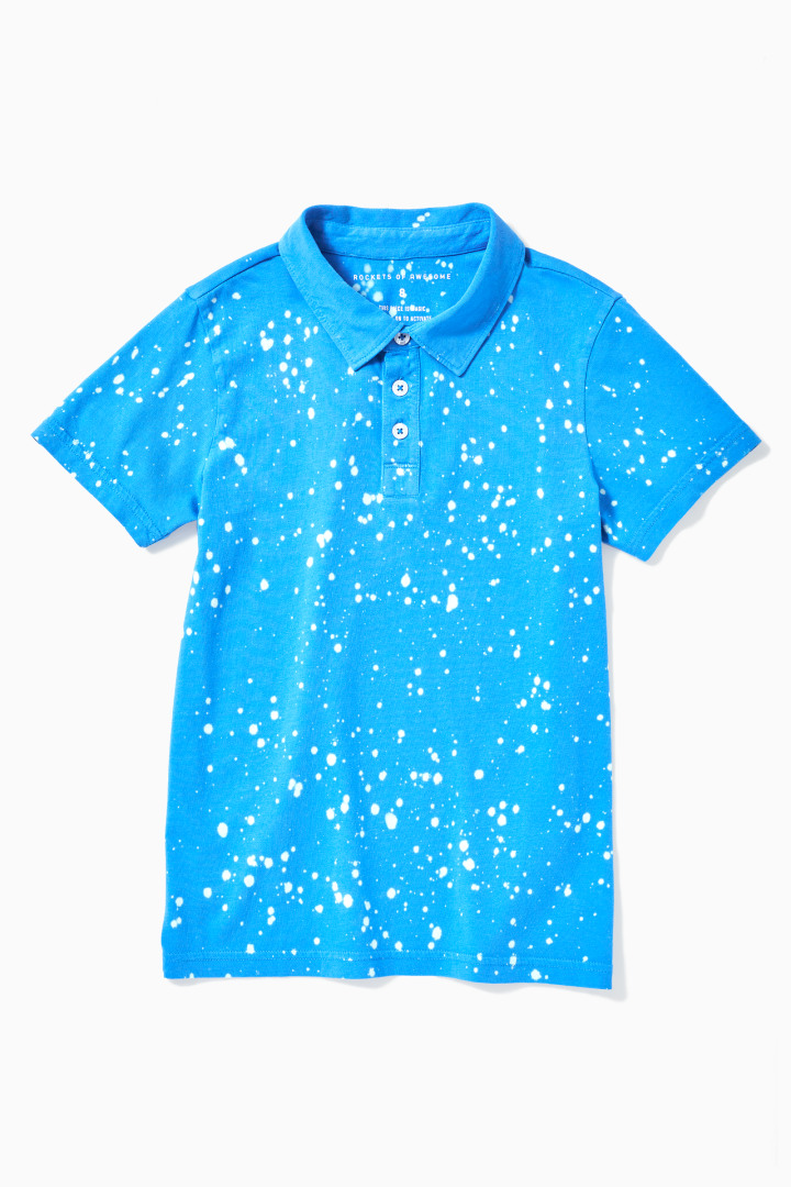 Acid Wash Polo front