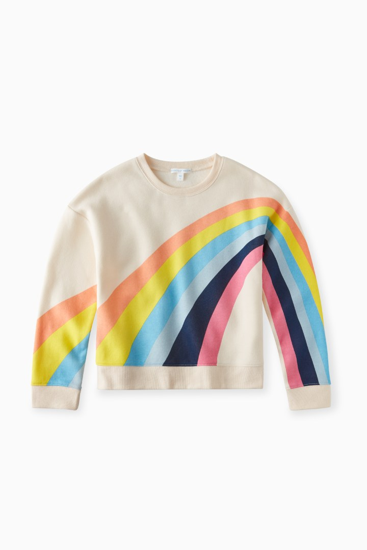 Rainbow Sweatshirt Main Image