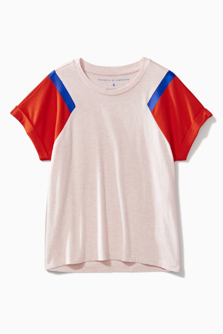 Color Block Tee front