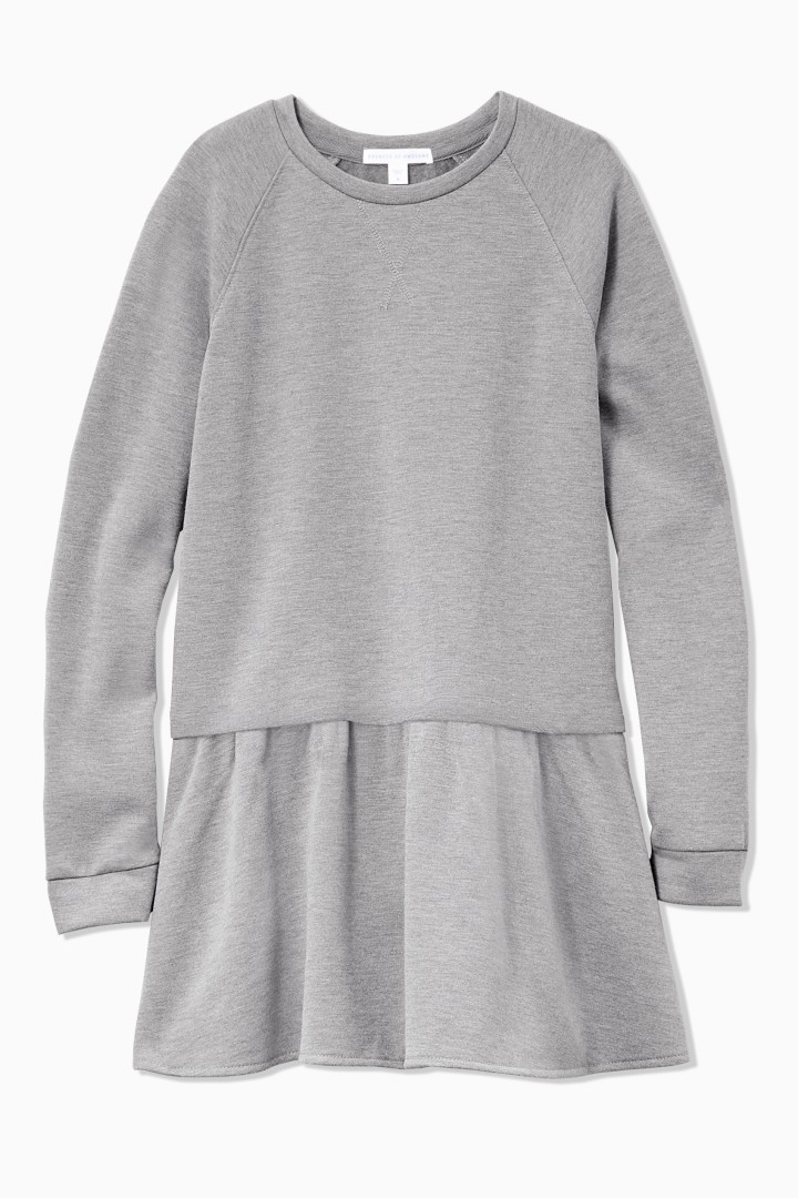 Sweatshirt Dress front