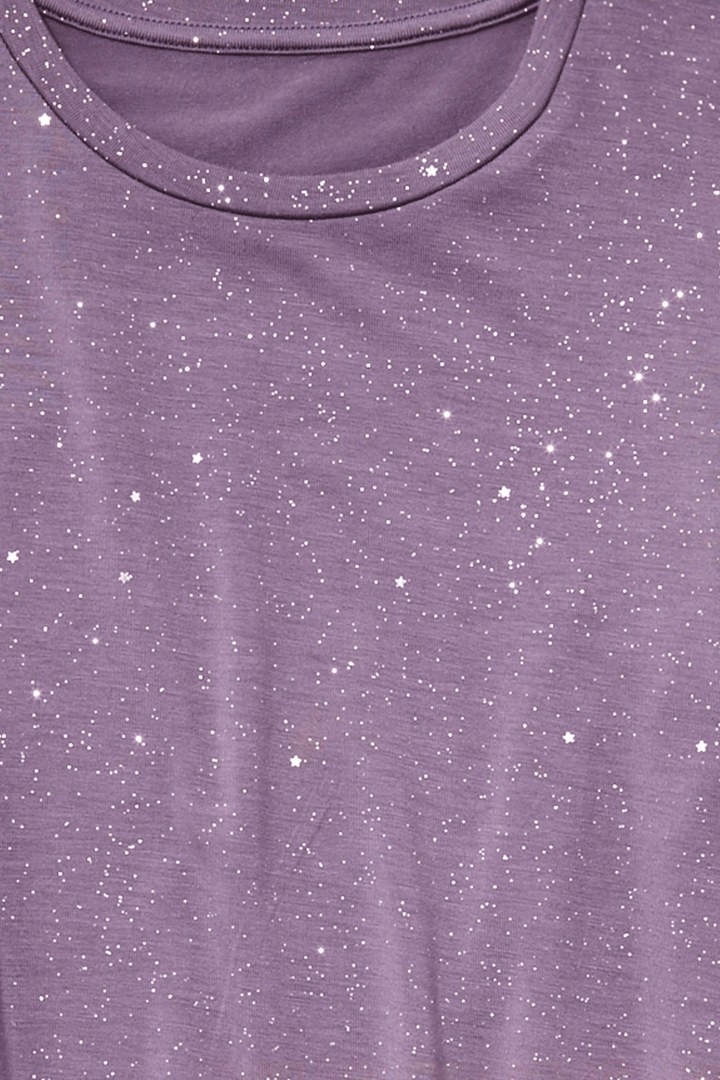Sparkle Galaxy Tee detail