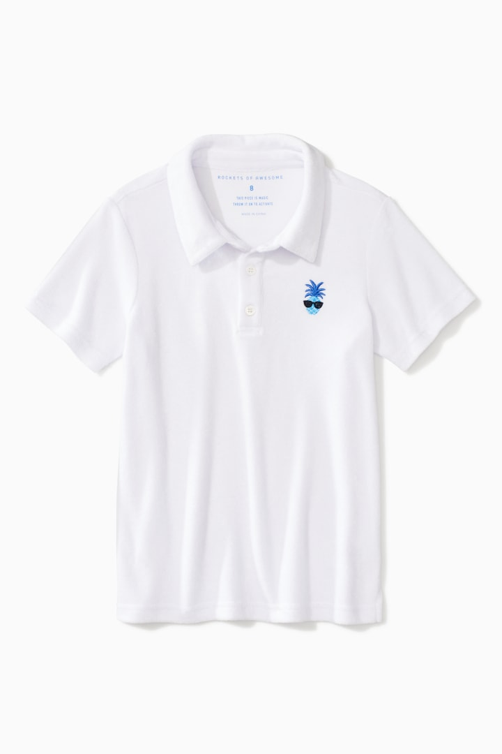 Towel Terry Polo front