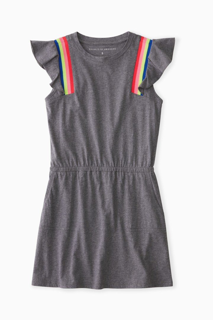 Trackstar Trim Dress Main Image