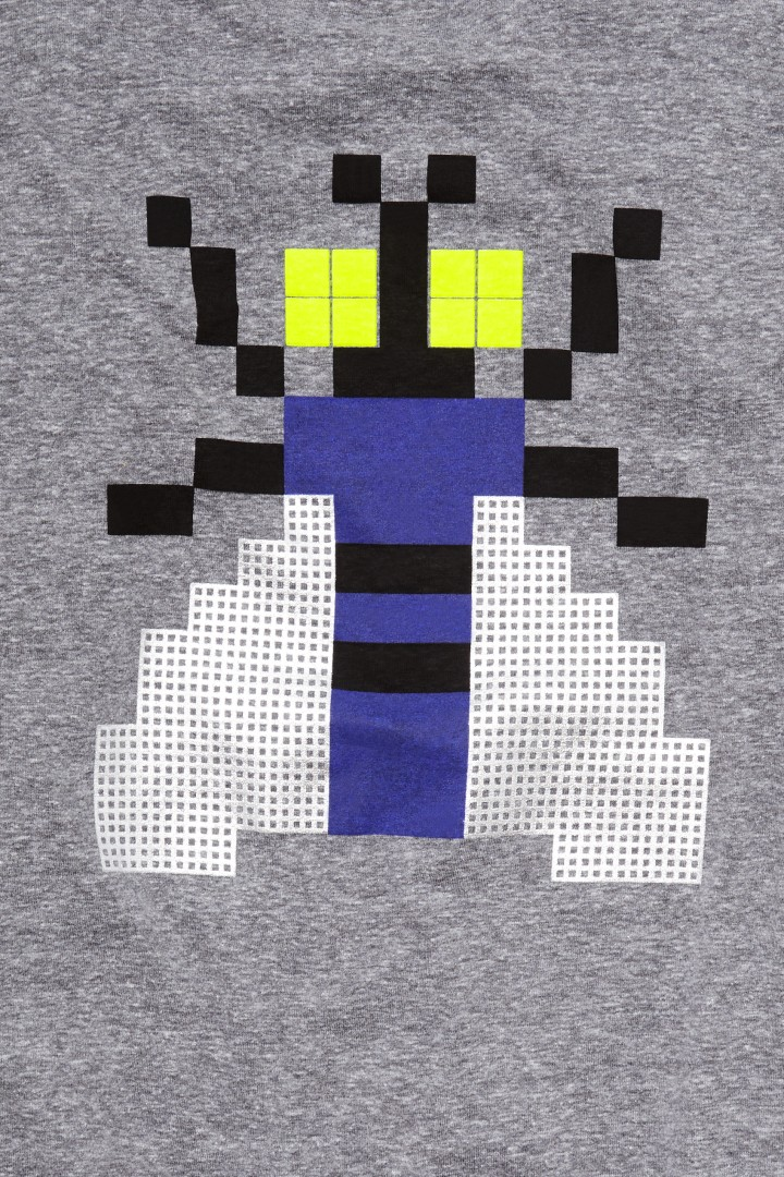 Digi Fly Back Graphic Tee detail