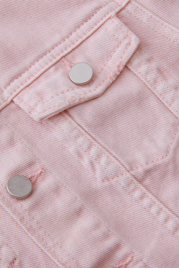 Classic Jean Jacket detail