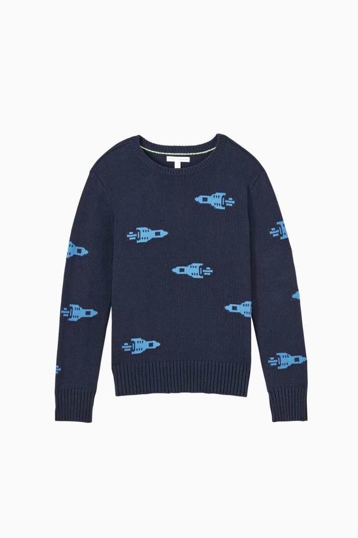 Rocket Sweater front