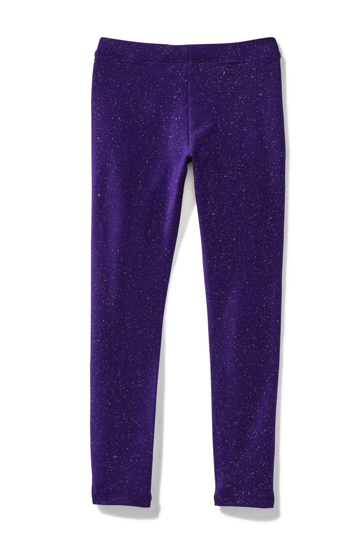 Winter-Proof Sparkle Galaxy Legging back