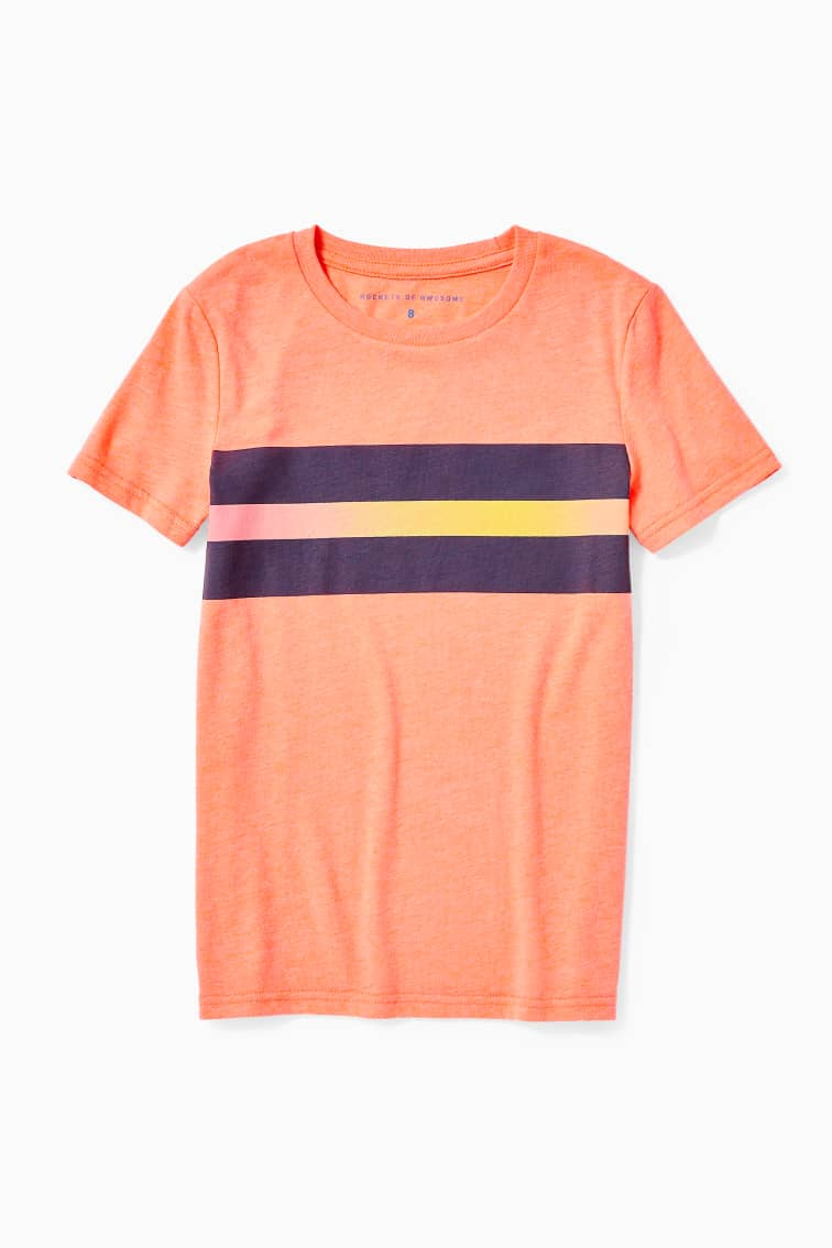 Ombre Stripe Tee front