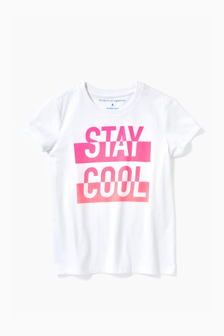 Stay Cool Ombre Tee front